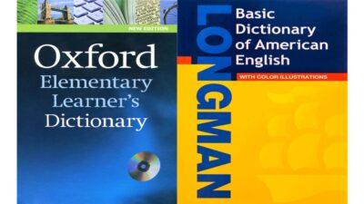 فرهنگ لغت تک زبانه زبان انگلیسی a monolingual dictionary for learning English