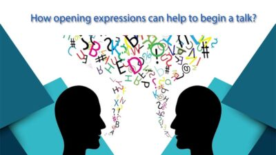 opening expression