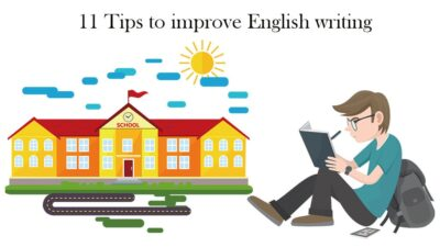 11 Tips to improve English writing skills