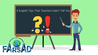 4 English Tips That Teachers Didn't Tell You