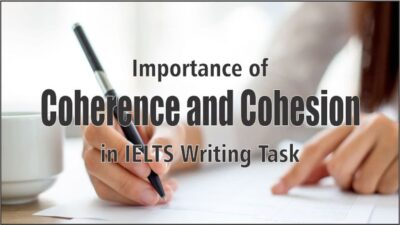 Coherence Cohesion مهارت Writing آزمون IELTS آيلتس