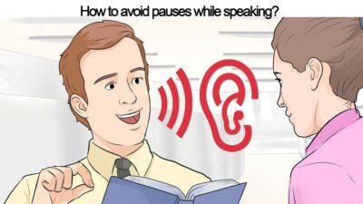 جلوگیری مکث مکالمه زبان انگلیسی pauses in English conversation speaking