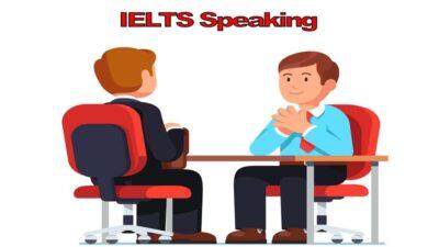 مهارت Speaking آیلتس