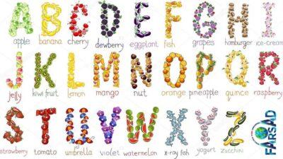 حروف صدا دار و بی صدا