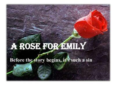 داستان انگلیسی A Rose for Emily
