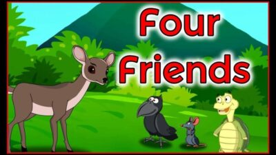 انیمیشن داستانی چهار دوست Four friends animation Entertainment Learning English