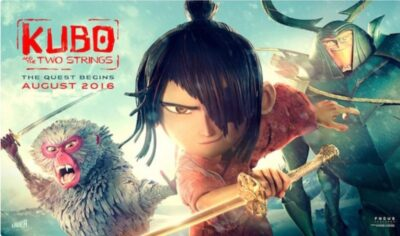 Kubo and the two strings_Fun and Learn انیمیشن کوبو و دوتارش‌ـ سرگرمی و یادگیری زبان انگلیسی motto learn English and have fun