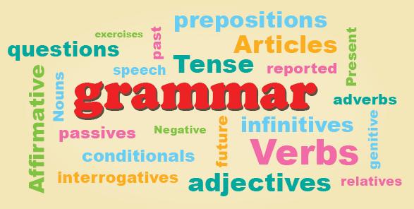 چگونه در هنگام مکالمه به گرامر Grammar during conversation