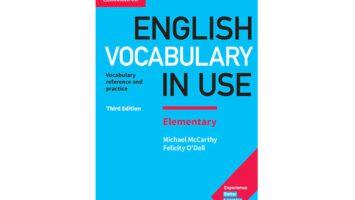 کتاب English Vocabulary in Use elementary تقویت دایره لغات
